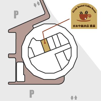 道の駅うすい内 地図