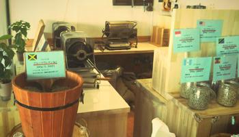 店舗イメージ 焙煎機